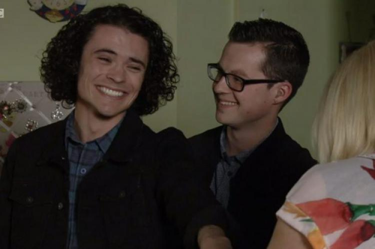 EastEnders' Ben Mitchell and Paul Coker