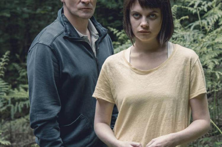 Adam Gettrick (Derek Riddell)  and Alice Webster (Abigail Hardingham)