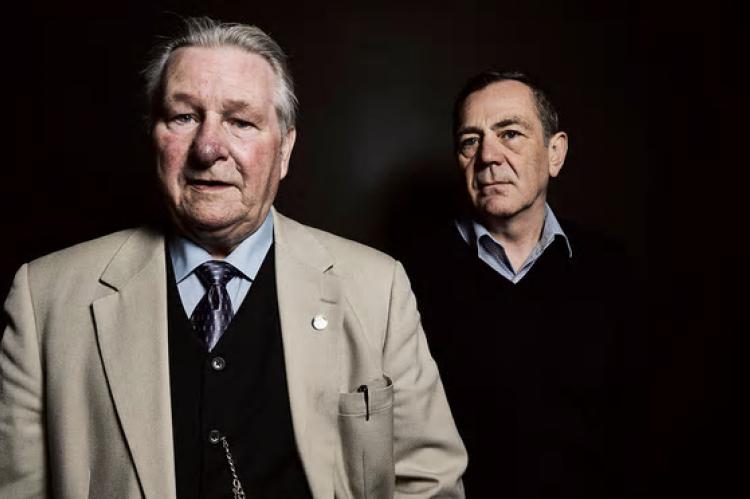 Bert Spencer and criminologist David Wilson