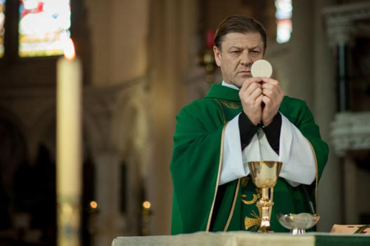 Broken starring Sean Bean as Father Michael