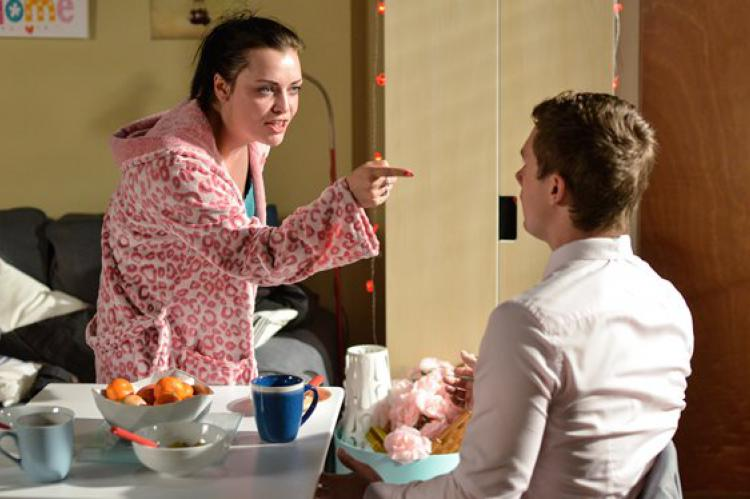 EastEnders: showdown for Whitney and Lee