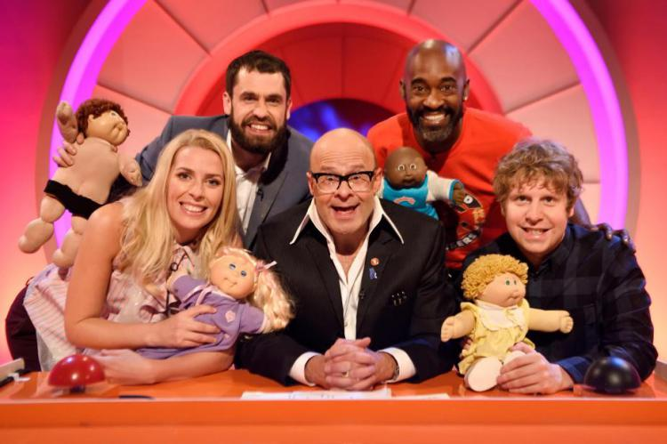 Harry Hill's Alien Fun Capsule features guests Kelvin Fletcher, Sara Pascoe, Patrick Robinson and Josh Widdicombe
