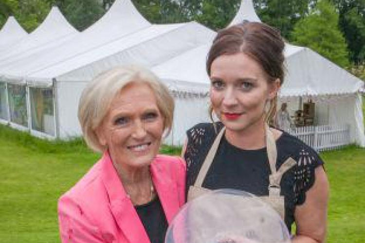 Mary Berry with Candice Brown