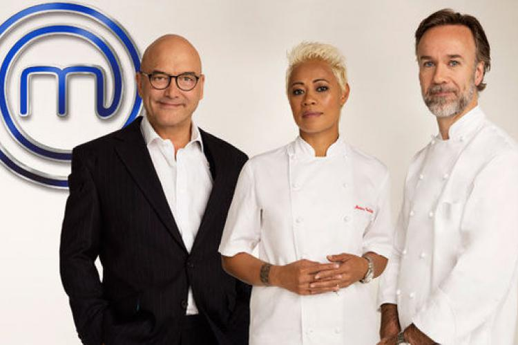 Professionals: Gregg Wallace, Monica Galetti and Marcus Wareing