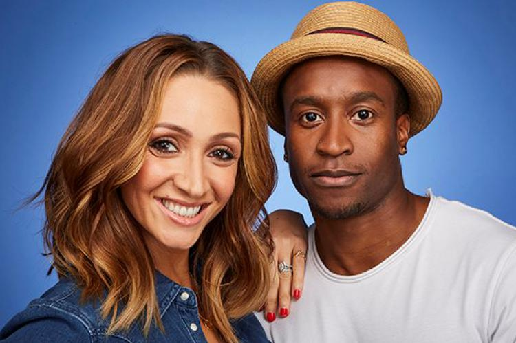 Soap star Lucy-Jo Hudson and her friend Rohan Pinnock-Hamilton