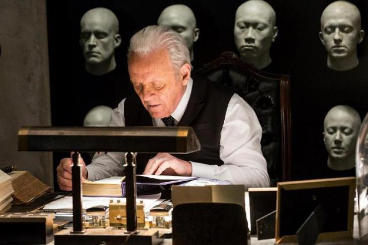 Sir Anthony Hopkins in Westworld