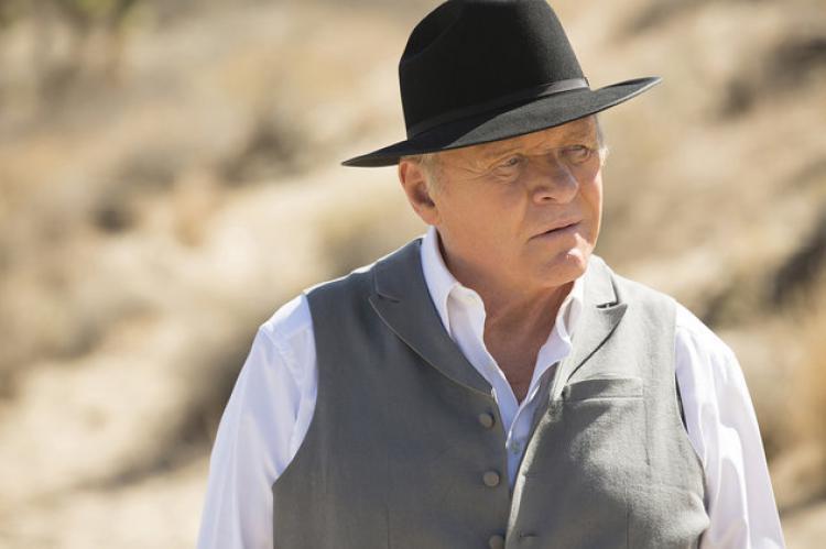 Sir Anthony Hopkins in Westworld