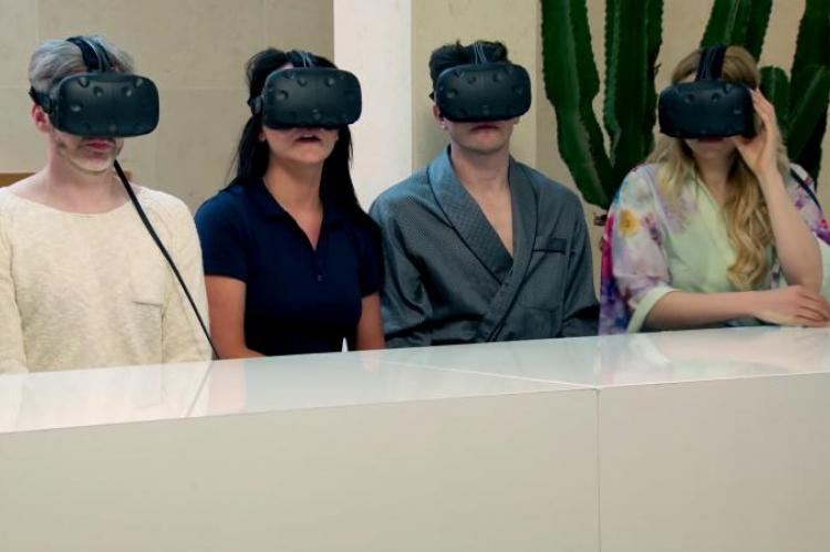 The virtual reality challenge in The Apprentice