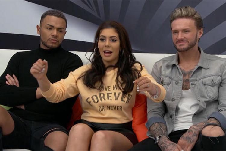 Geordie Shore's Chloe reveals all on Celebrity Sex Pod