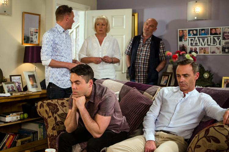 Corrie: Sean finds out about Todd and Billy