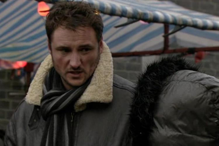 EastEnders' Martin suffered a few light bruises