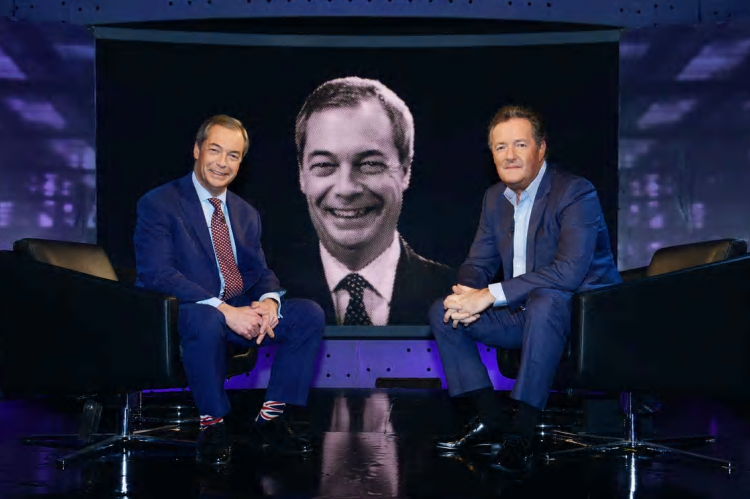 Piers Morgan's Life Stories with Nigel Farage