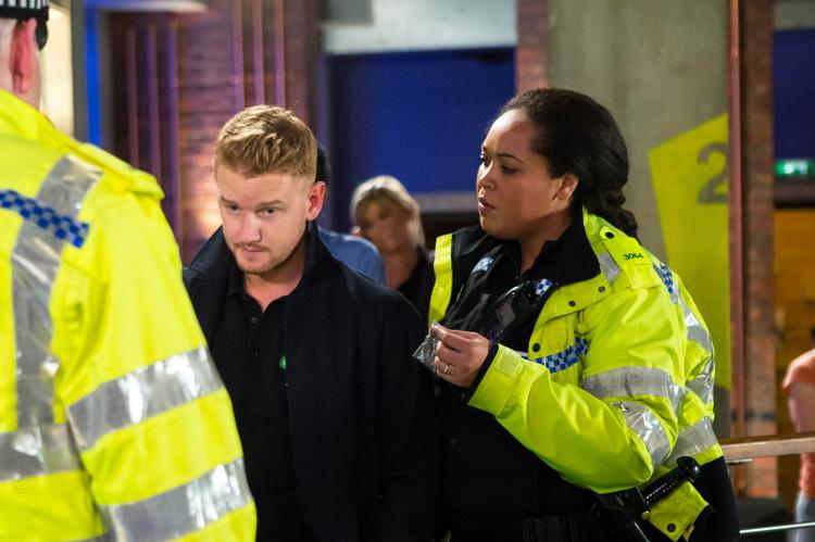 Gary Windass is arrested for a £30 bag of weed