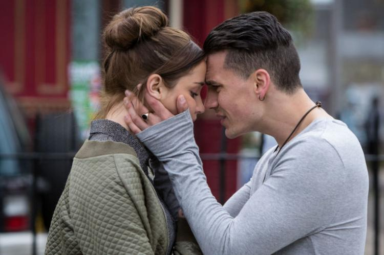 EastEnders Lauren and Steven