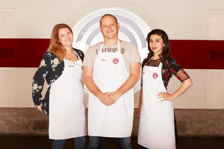 Meet Giovanna Ryan, Steve Kielty and Saliha Mahmood-Ahmed, the MasterChef finalists
