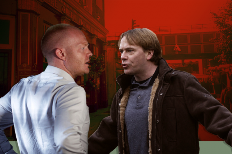 Max Branning and Ian Beale