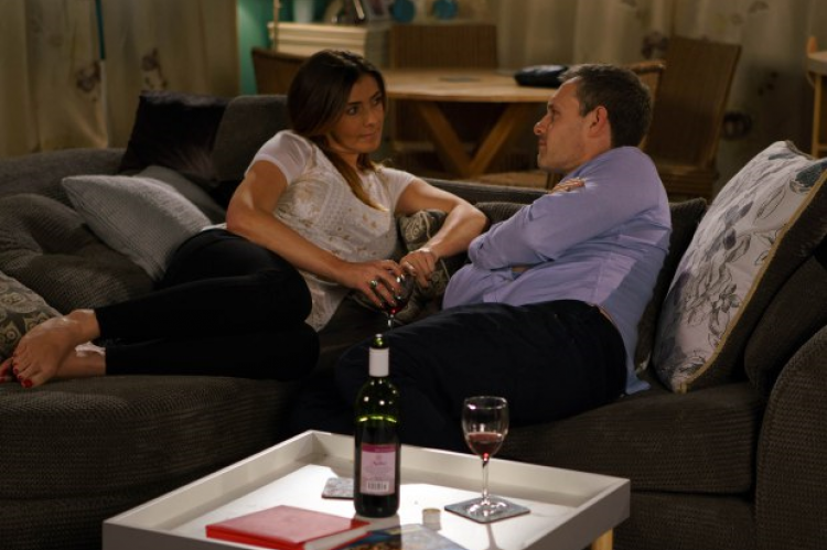 Corrie: the new evil Michelle tries it on with Nick