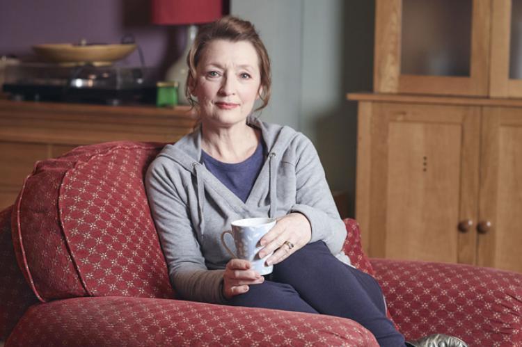 Mum star Lesley Manville