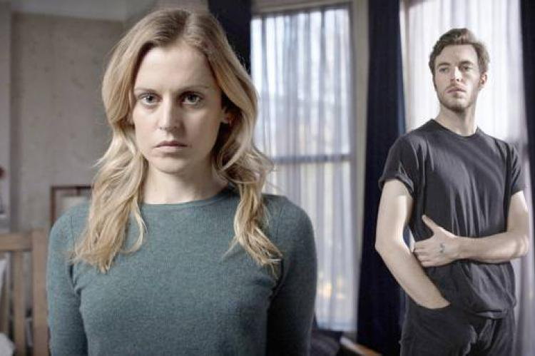 Denise Gough as Paula and Tom Hughes as James