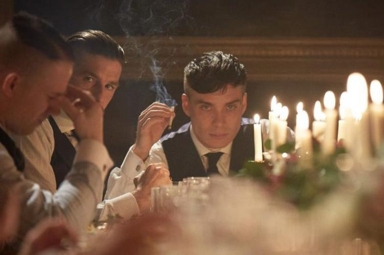 Peaky Blinders: Tommy's wedding party
