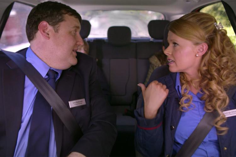 Peter Kay and Sian Gibson