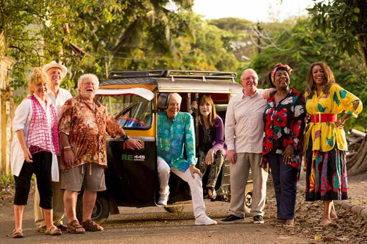 The Real Marigold Hotel with Amanda Barrie, Paul Nicholas, Bill Oddie, Lionel Blair and Dr Miriam Stoppard