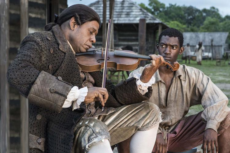 Roots: Forest Whitaker and Malachi Kirby