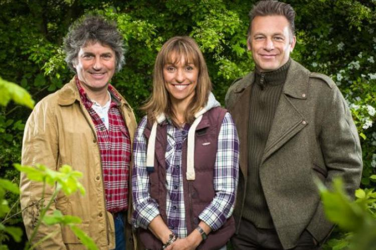 Springwatch's Martin Hughes-Games, Michaela Strachan and Chris Packham