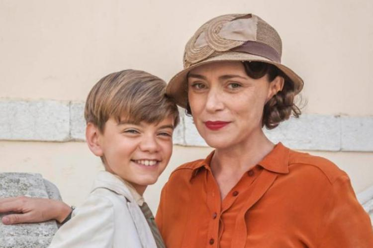 The Durrells Milo Parker and Keeley Hawes