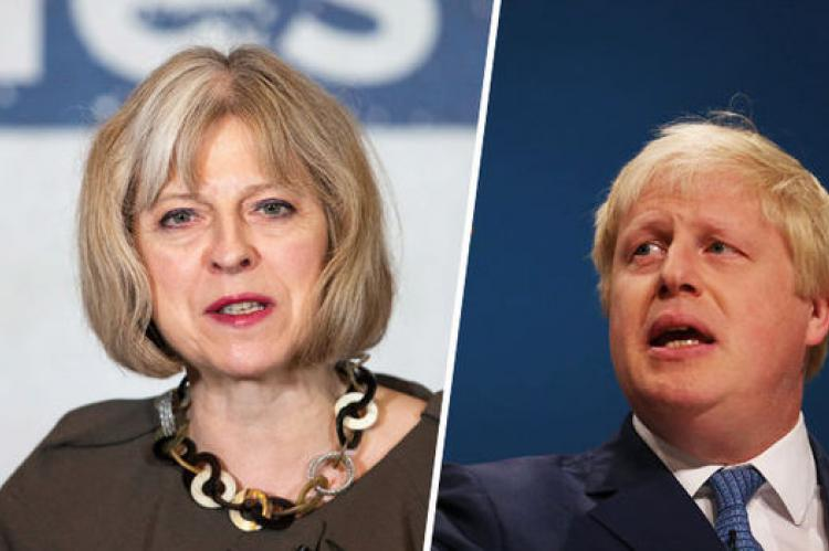 Theresa vs Boris