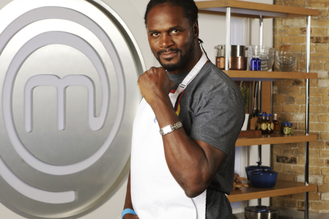 Celebrity MasterChef packs a punch with Audley Harrison