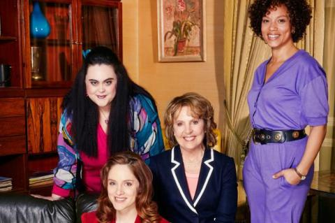 Sharon Rooney, Sophie Rundle, Penelope Wilton and Angela Griffin in Brief Encounters