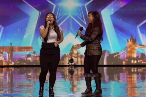 Britain's Got Talent: mum and daughter act Ana and Fia