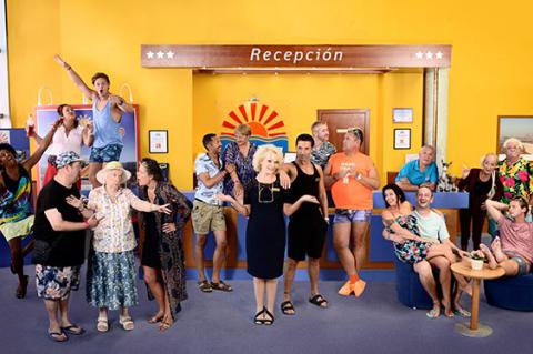 Meet the cast of Benidorm series 9