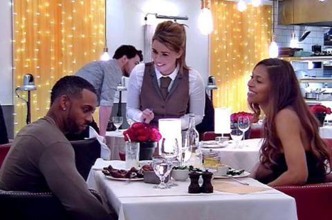 Richard Blackwood on Celebrity First Dates