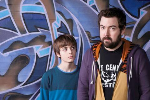 Uncle's Elliot Speller-Gillott and Nick Helm