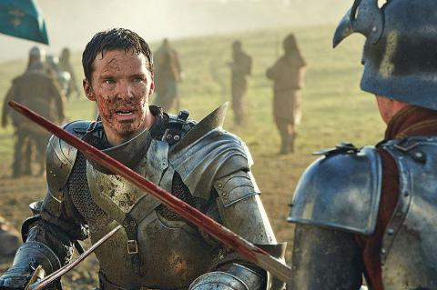 Benedict Cumberbatch in The Hollow Crown