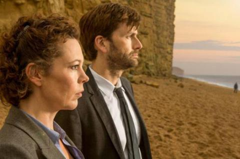 Broadchurch with Olivia Coleman and David Tennant