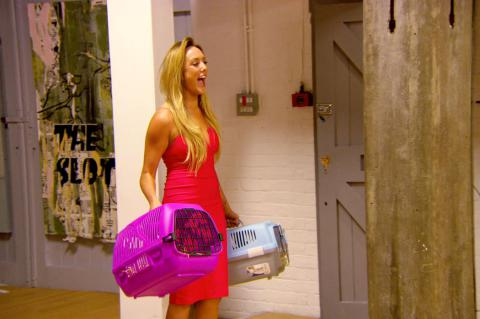 Charlotte Crosby returns to the Geordie Shore house