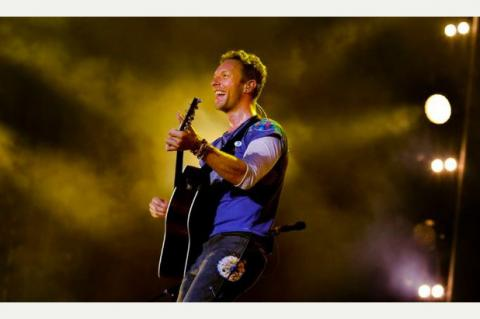 Coldplay on BBC Radio 1 Big Weekend