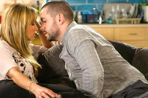 Coronation Street: Maria and Aidan's drunken night of passion