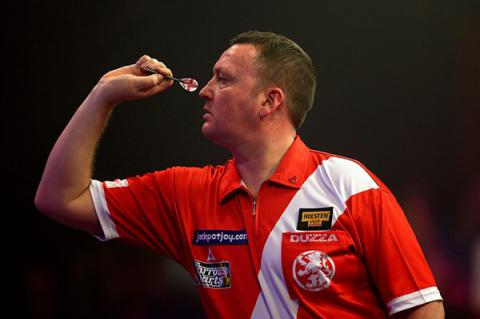 Darts player Glen Durrant