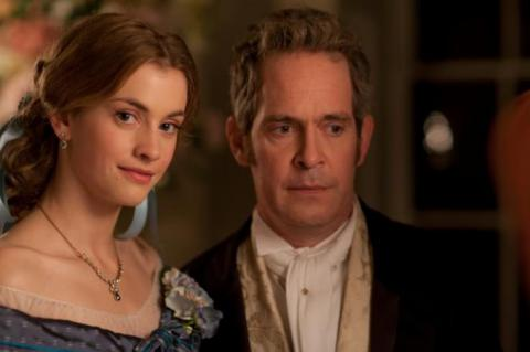 Dr Thorne (Tom Hollander) and his niece Mary (Stefanie Martini)