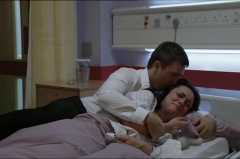 EastEnders: Lee and Whitney's baby heart ache