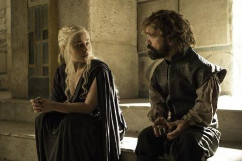Game of Thrones: Emilia Clarke and Peter Dinklage