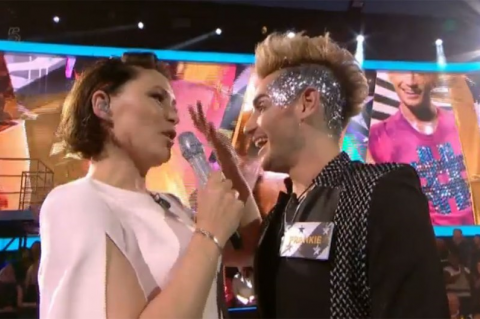 Emma Willis and Frankie Grande before he entered the CBB house