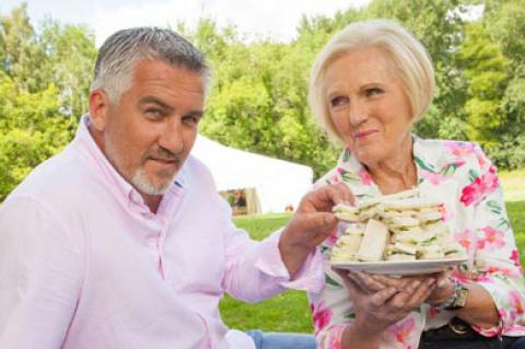 The Great British Bake Off: Paul Hollywood and Mary Berry
