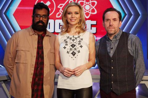 It's not rocket science, Rachel Riley, Romesh Ranganathan, Ben Miller
