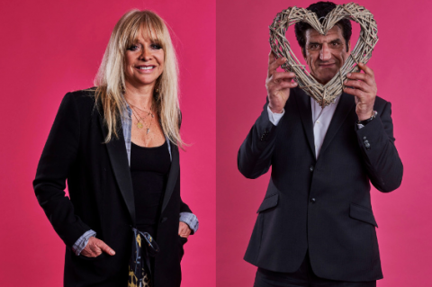 Celebrity First Dates: Jo Wood and her Ronnie look alike