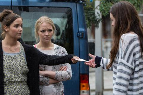 Lauren, Abby and Stacey in EastEnders
